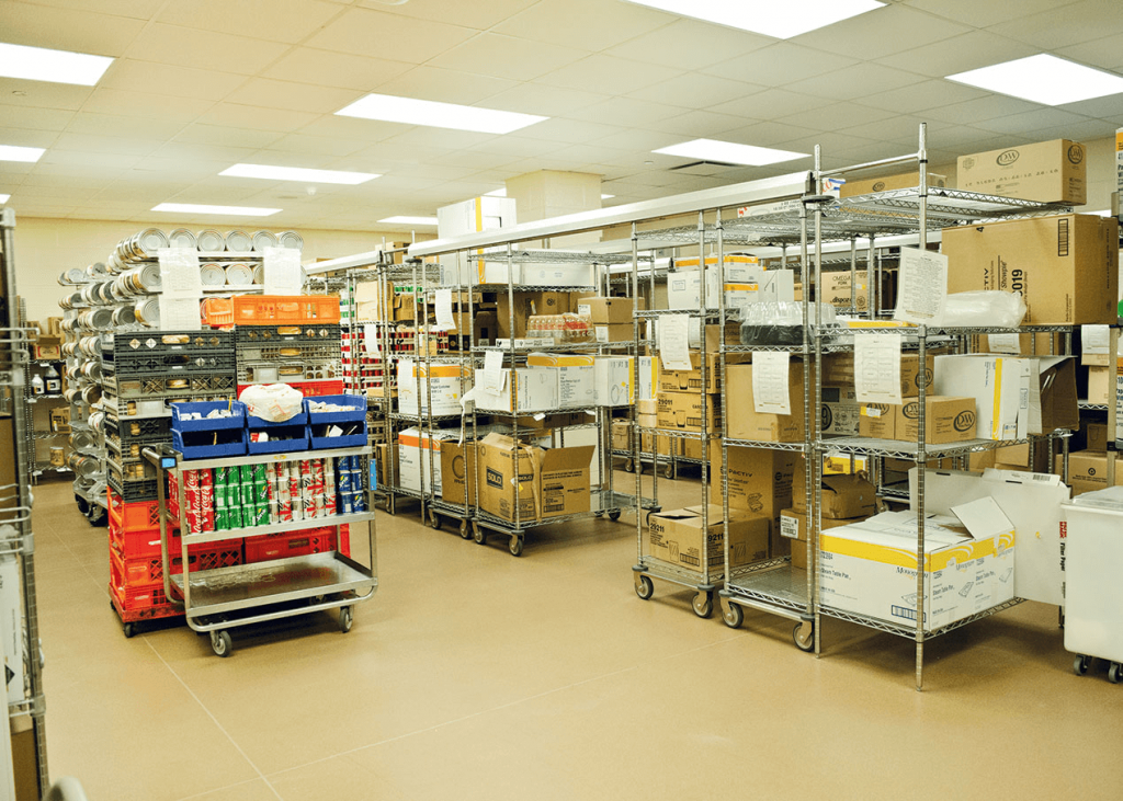 Storage Equipment for Commercial Kitchen