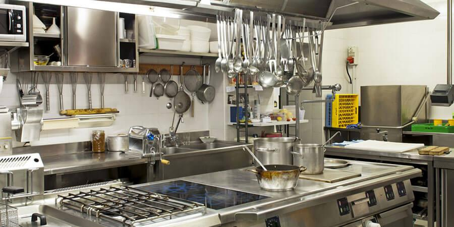 Plan and source kitchen equipments
